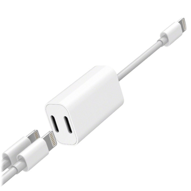 Adaptador de audio y carga Lightning iPhone - Broxy Mexico