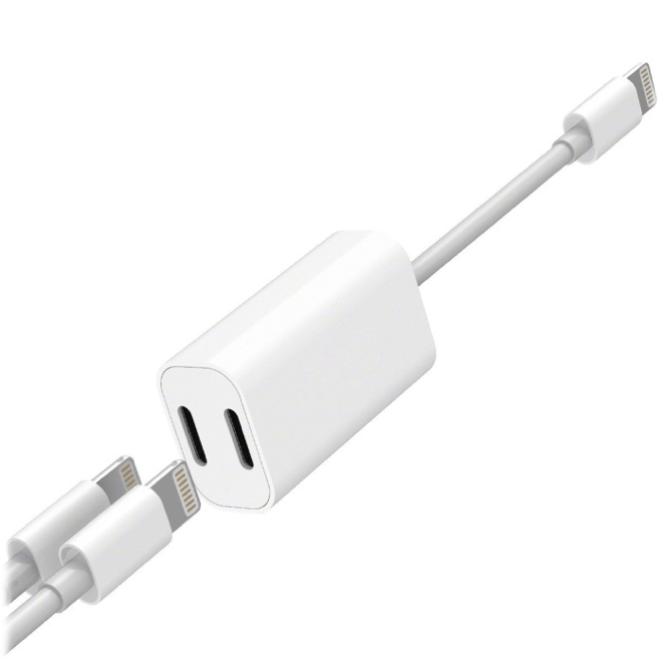 Adaptador de audio y carga Lightning iPhone - Broxy Mexico
