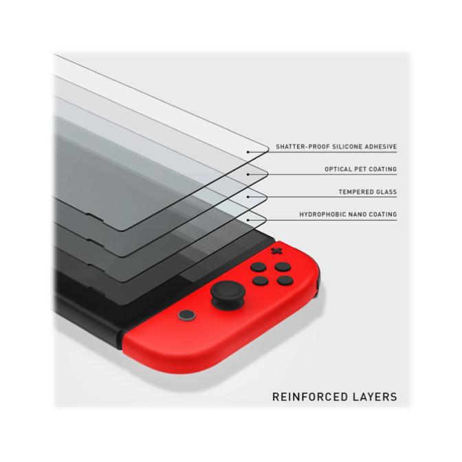 Mica Cristal Templado Nintendo Switch 2 Pack - Broxy Mexico
